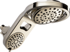 HydroRain® 5-Setting Two-in-One Shower Head