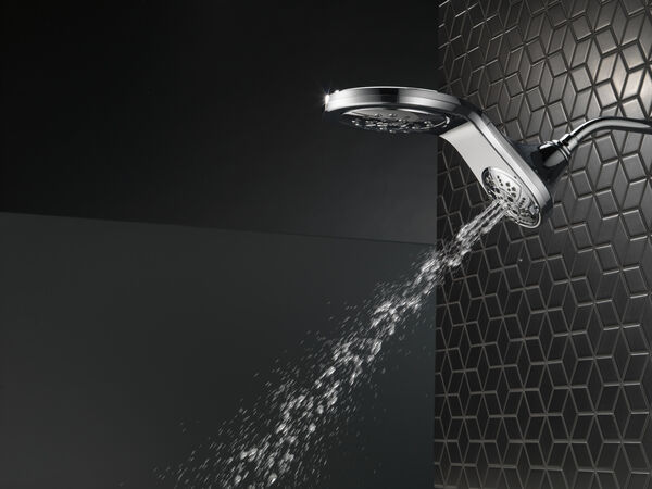 HydroRain® H<sub>2</sub>Okinetic® 5-Setting Two-in-One Shower Head, image 31