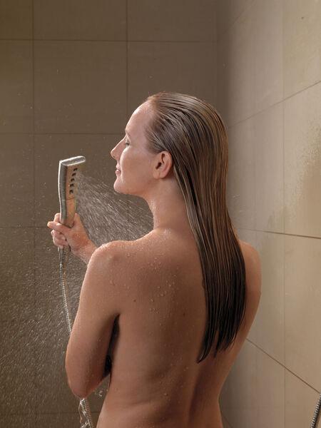 H<sub>2</sub>Okinetic® Single-Setting Hand Shower, image 2