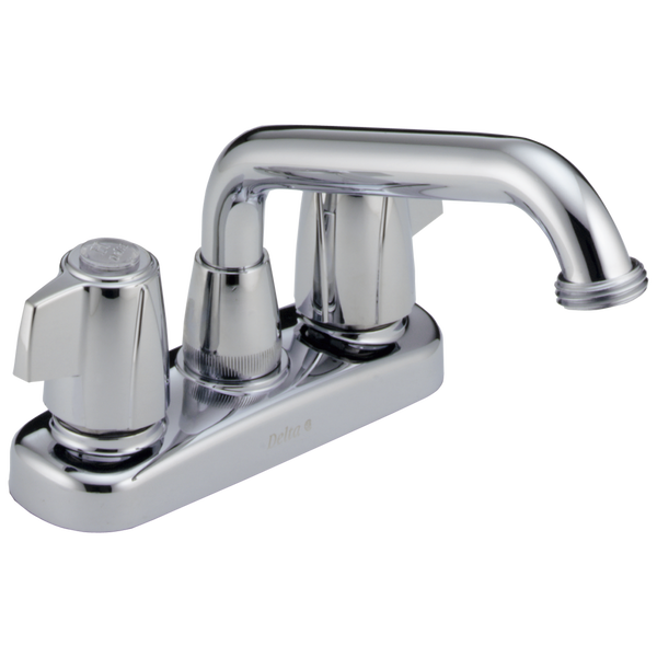 Two Handle Laundry Faucet, image 1
