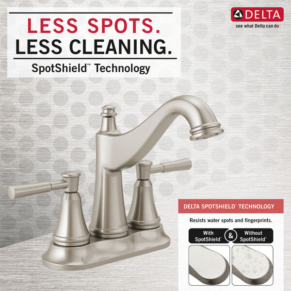 Two Handle Centerset Bathroom Faucet, image 4