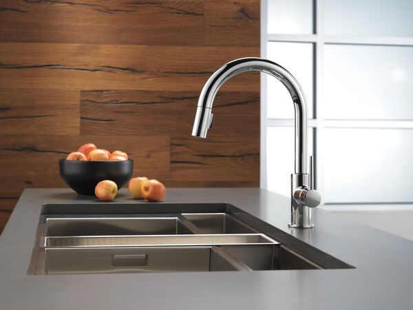 Single Handle Pull-Down Kitchen Limited Swivel, image 8