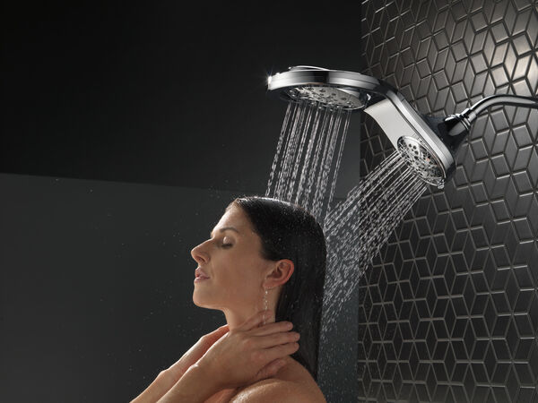 HydroRain® H<sub>2</sub>Okinetic® In2ition® 5-Setting Two-in-One Shower, image 12