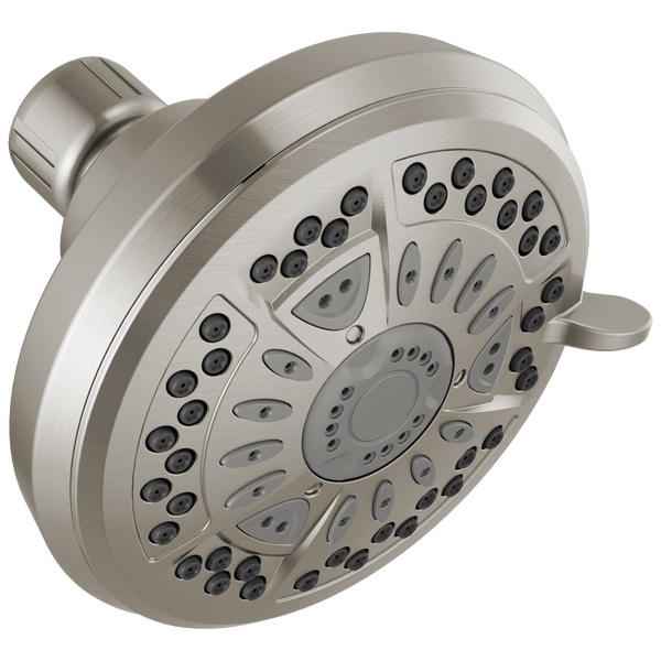 Delta Faucet 75641SN 6 Spray Setting Universal Shower Head Satin Nickel Finish