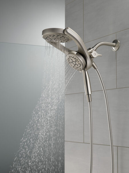 HydroRain® 4-Setting Two-in-One Shower Head, image 21