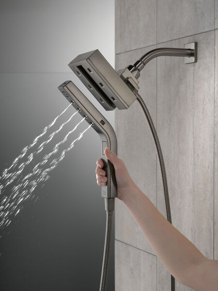 H2Okinetic® In2ition® 4-Setting Two-in-One Shower, image 3