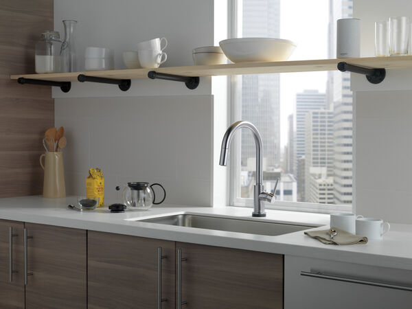 VoiceIQ™ Single-Handle Pull-Down Kitchen Faucet with Touch<sub>2</sub>O® Technology, image 14