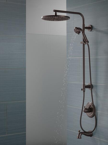 """Shower Column 26"""" Round, image 4"""