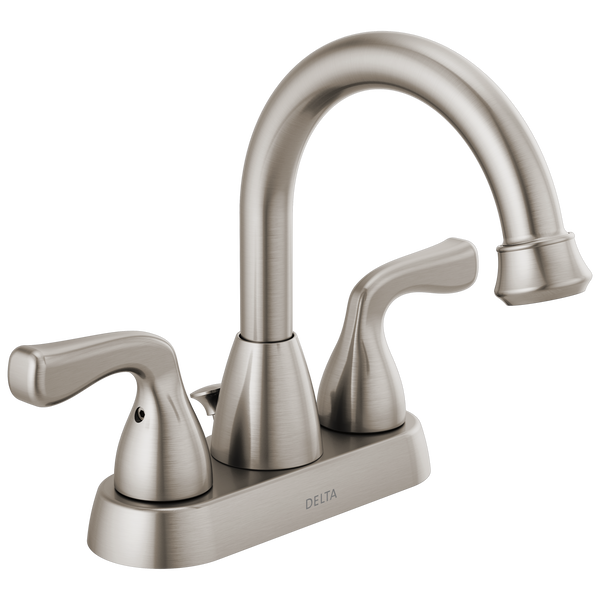 Two Handle Centerset Bathroom Faucet Stackout, image 1
