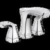 Two Handle Widespread Bathroom Faucet - Metal Pop-Up