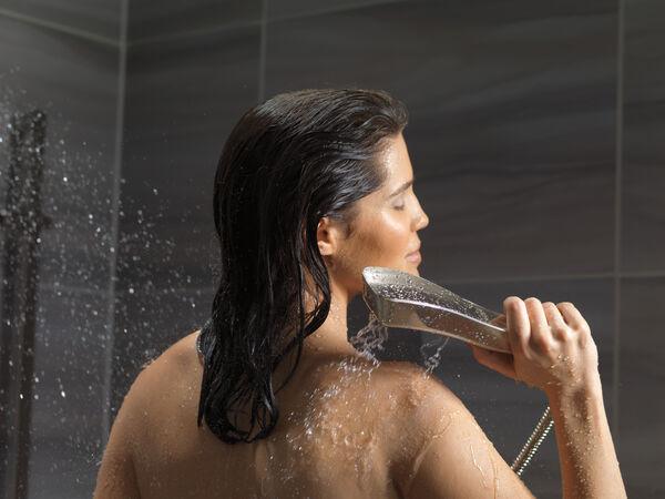 H<sub>2</sub>Okinetic® 4-Setting Slide Bar Hand Shower, image 6