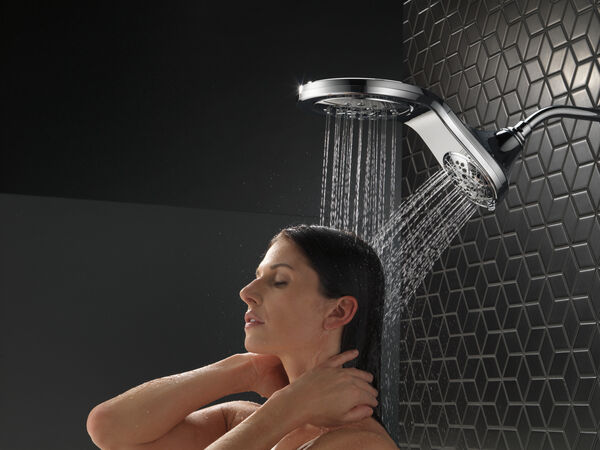 HydroRain® H<sub>2</sub>Okinetic® In2ition® 5-Setting Two-in-One Shower, image 16