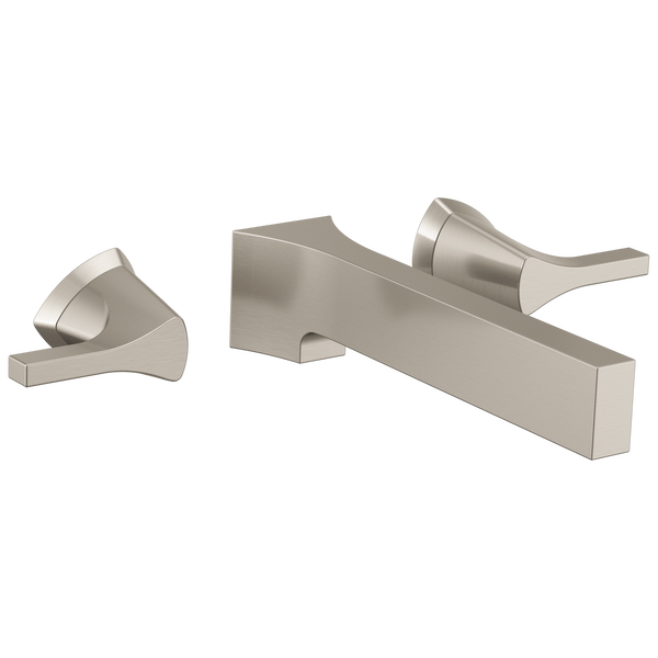 Two Handle Wall Mount Bathroom Faucet Trim, image 1