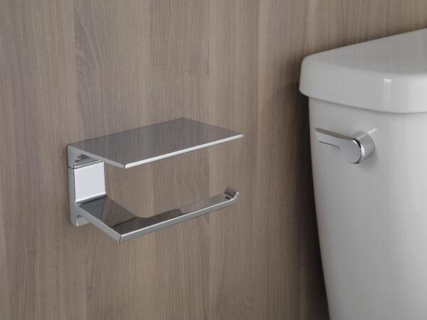 Tissue Holder with Shelf, image 4