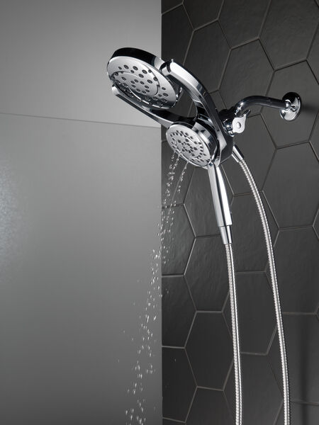 HydroRain® 4-Setting Two-in-One Shower Head, image 19