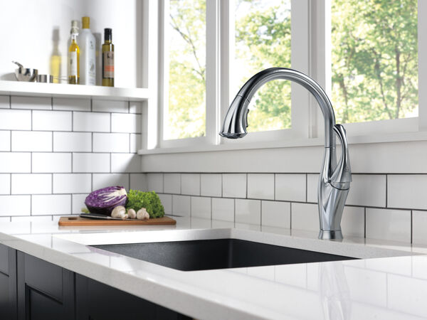 Single Handle Pull-Down Kitchen Faucet with ShieldSpray® Technology, image 7