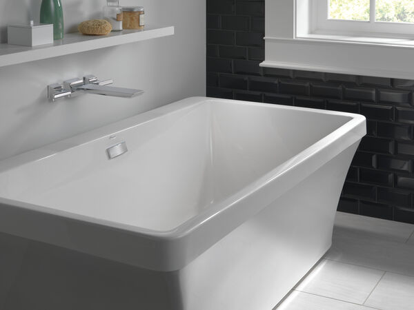 Two Handle Wall Mounted Tub Filler, image 6