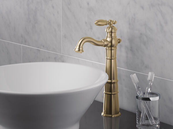 Single Handle Vessel Bathroom Faucet, image 2