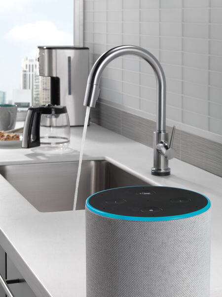 VoiceIQ™ Single-Handle Pull-Down Kitchen Faucet with Touch<sub>2</sub>O® Technology, image 20