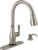 Single Handle Pull-Down Kitchen Faucet with Touch2O® and ShieldSpray® Technologies (Recertified)