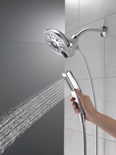 In2ition® H<sub>2</sub>Okinetic® 5-Setting Two-in-One Shower, image 7