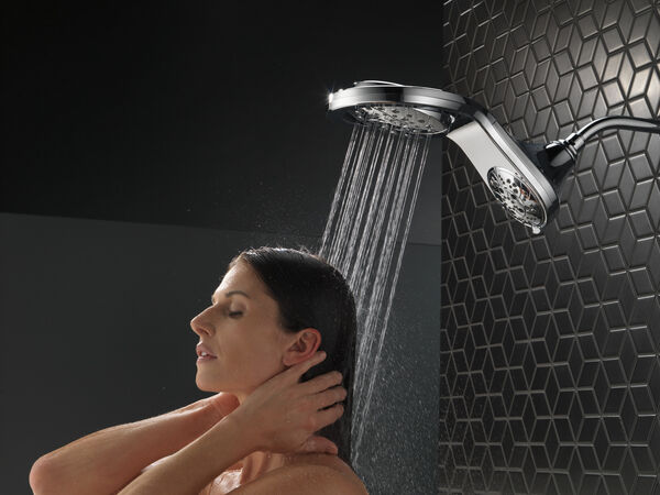 HydroRain® H<sub>2</sub>Okinetic® In2ition® 5-Setting Two-in-One Shower, image 11