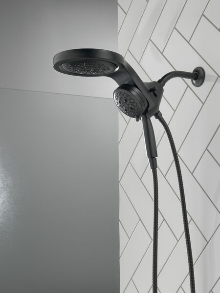 HydroRain® H<sub>2</sub>Okinetic® 5-Setting Two-in-One Shower Head, image 20