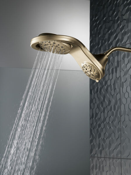 HydroRain® H<sub>2</sub>Okinetic® 5-Setting Two-in-One Shower Head, image 2