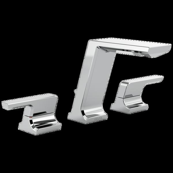 Two Handle Widespread Bathroom Faucet 3599lf Mpu Delta Faucet