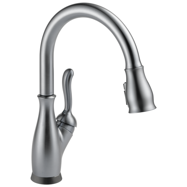 Single Handle Pull Down Kitchen Faucet With Touch2o And Shieldspray Technologies 9178t Ar Dst Delta Faucet