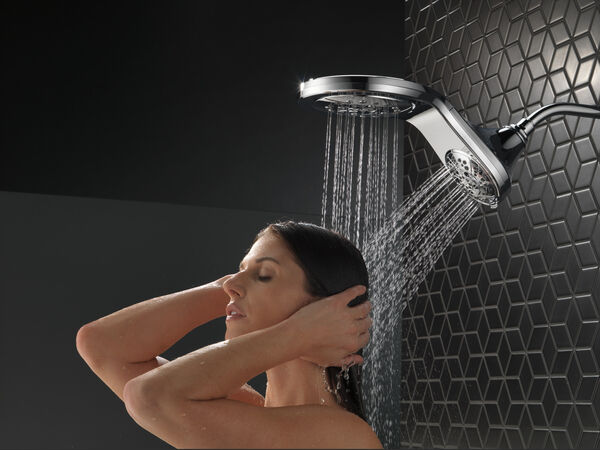 HydroRain® H<sub>2</sub>Okinetic® In2ition® 5-Setting Two-in-One Shower, image 14
