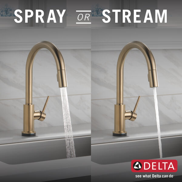 Single Handle Pull-Down Kitchen Faucet with Touch<sub>2</sub>O® Technology, image 3