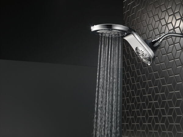 HydroRain® H<sub>2</sub>Okinetic® 5-Setting Two-in-One Shower Head, image 26