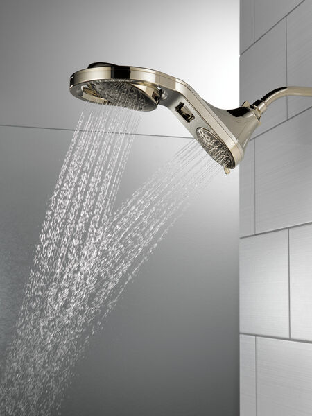 HydroRain® 5-Setting Two-in-One Shower Head, image 6
