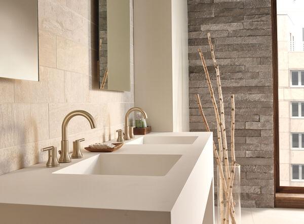 Two Handle Widespread Bathroom Faucet 3559 Czmpu Dst Delta Faucet
