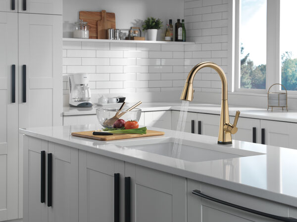Single-Handle Pull-Down Kitchen Faucet with Touch2O® Technology, image 11
