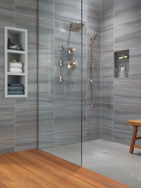 H<sub>2</sub>Okinetic® 4-Setting Slide Bar Hand Shower, image 8