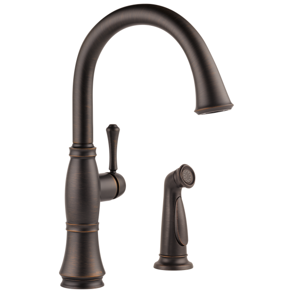 Single Handle Kitchen Faucet with Spray, image 1