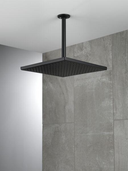 Single-Setting Metal Raincan Shower Head, image 3