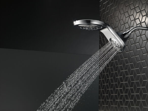 HydroRain® H<sub>2</sub>Okinetic® 5-Setting Two-in-One Shower Head, image 29