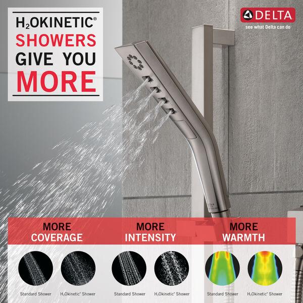 H<sub>2</sub>Okinetic® 3-Setting Slide Bar Hand Shower, image 3