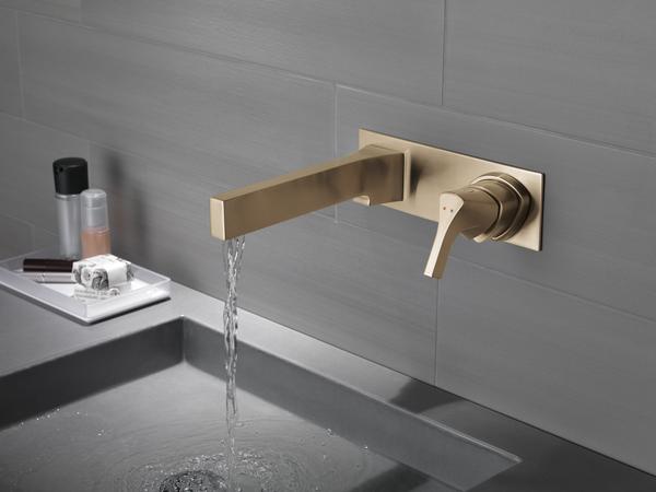 Single Handle Wall Mount Bathroom, Bathroom Wall Faucet