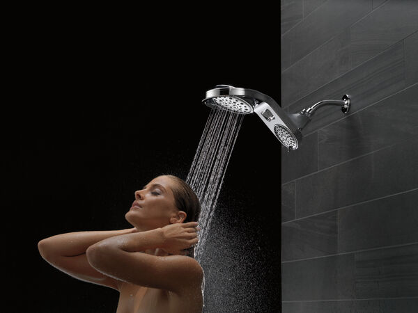 HydroRain® 5-Setting Two-in-One Shower Head, image 5