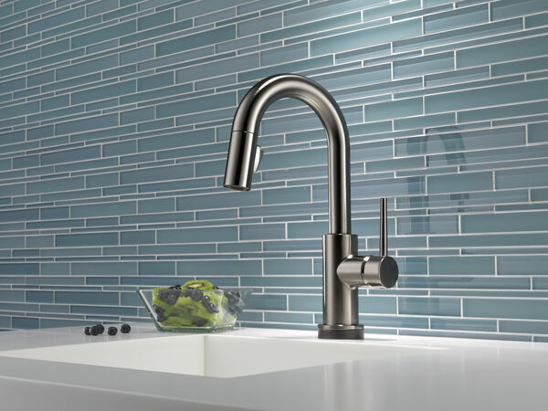 Single Handle Pull-Down Bar/Prep Faucet with Touch, image 4