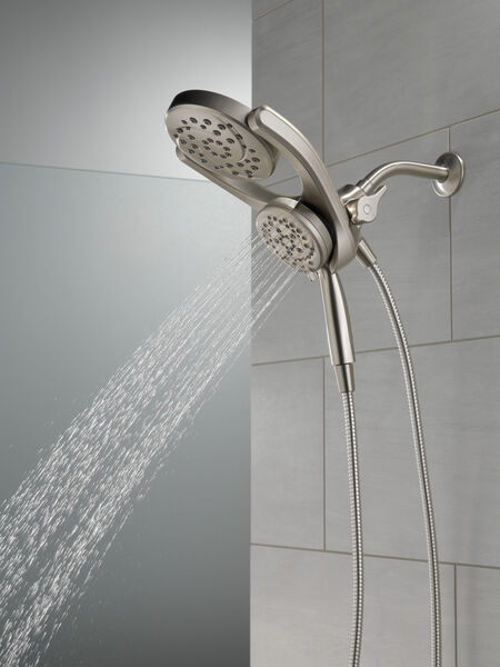 HydroRain® 4-Setting Two-in-One Shower Head, image 17