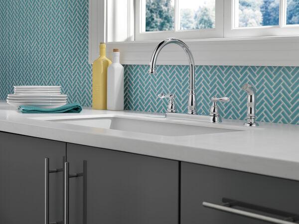 Two Handle Kitchen Faucet, image 5