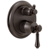 Traditional 2-Handle Monitor® 14 Series Valve Trim with 6-Setting Integrated Diverter