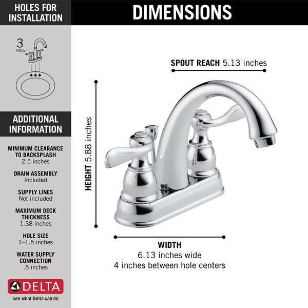 Bathroom Faucet B2596lf Delta