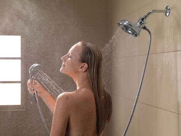 H<sub>2</sub>Okinetic® In2ition® 4-Setting Two-in-One Shower, image 8