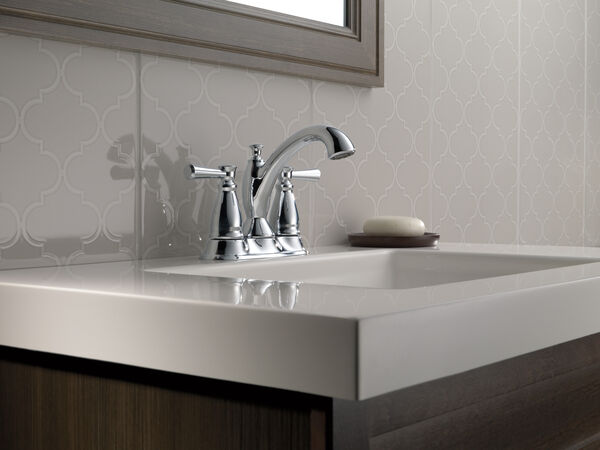 Two Handle Tract-Pack Centerset Bathroom Faucet, image 3